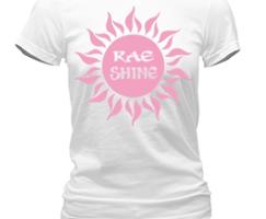 Rae Shine Logo TShirt White